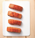 Maple-Soaked Salmon