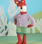 Finlay Fox Knitted Doll (Free Knitting Pattern)