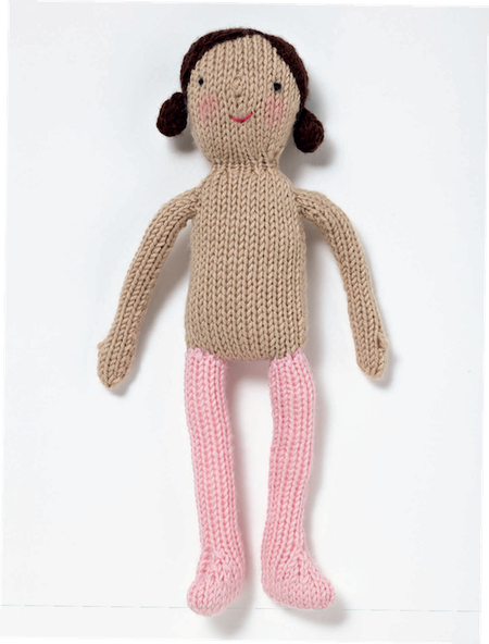 Basic Knitted Doll Free Knitting Pattern Craftfoxes