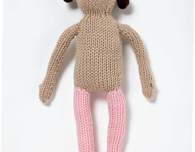 Basic Knitted Doll (Free Knitting Pattern)