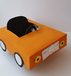 CAR (Cereal Box Upcycle Project)