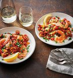 Slow Cooker Shrimp and Chorizo Paella