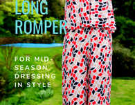 The Long Romper Pattern For Mid Season Dressing In Style