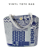 Reversible Fabric Vinyl Tote Bag – New Free Pattern