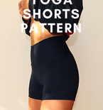 Yoga Shorts Pattern For Women