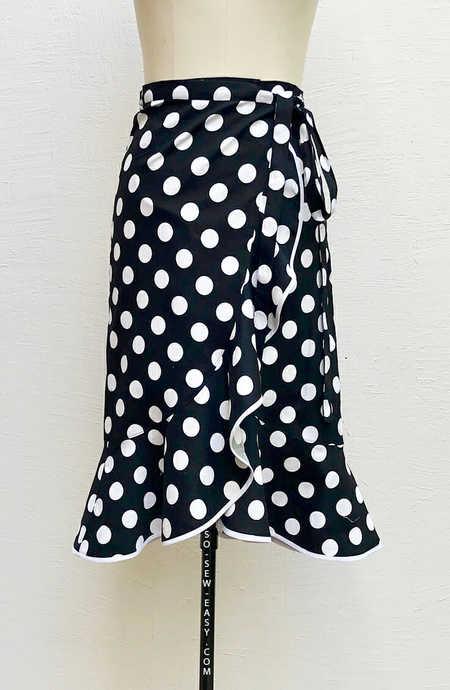 Flounce Wrap Skirt Pattern – All Year Elegant Dressing