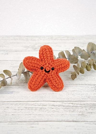 Starla the Starfish - Free Crochet Pattern