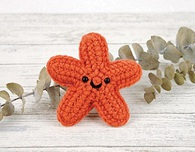 Starla the Starfish - Free Crochet Pattern
