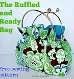 Free Bag Pattern – the Ruffled and Ready Bag