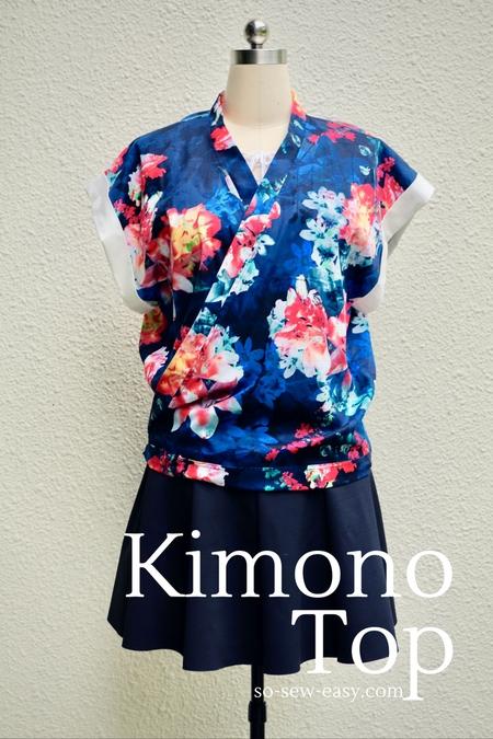 Kimono Top FREE Sewing Pattern