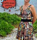 Graffiti Dress Free Sewing Pattern