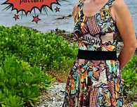 Graffiti Dress Free Sewing Pattern