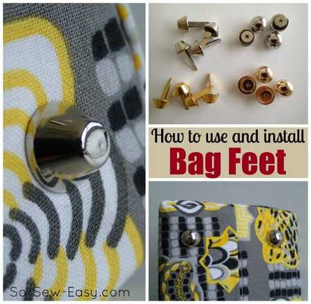 How to Install Bag Feet