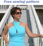 Twist Front Top – FREE T-shirt Pattern