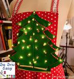 How to Make the Christmas Tree Patchwork with Lights
