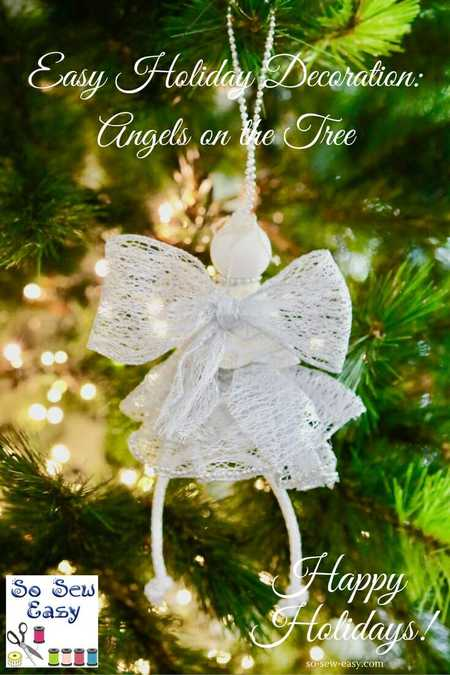 Angels On The Tree Christmas Decoration