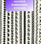 Basic Sewing Machine Embroidery Stitches