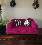 Crochet Cat Couch Pattern