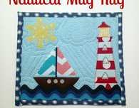 Nautical Mug Rug FREE Tutorial
