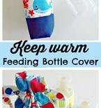 Insulated Baby Bottle Cover FREE Sewing Pattern