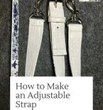 How To Make An Adjustable Strap For Any Bag FREE Tutorial