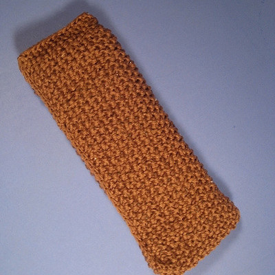 knitted eye pillow