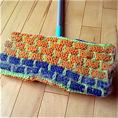 knitted swiffer cover