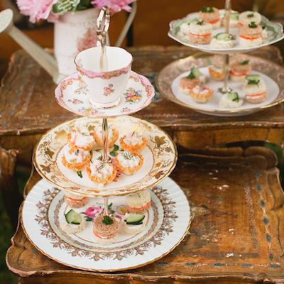 Teacup Dessert Stand