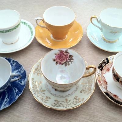 teacup party favors