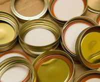 ball jar lids, canning jar