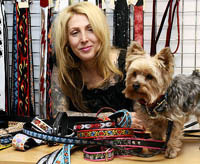 handmade guitar straps sold to benefit charity