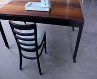 studio table with casters