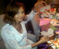 jessica alba hosts diy celebration