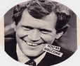 retro david letterman magnet