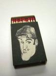 vintage-inspired jay leno matchbox