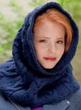 knit vampire cowl
