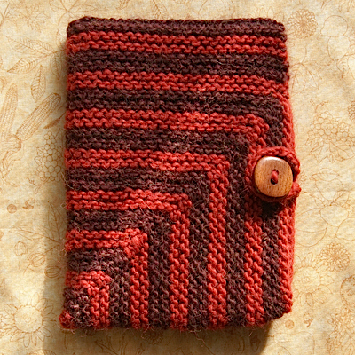How to make a knit kindle cover