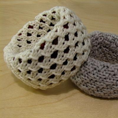 How to knit bangle bracelets