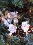 christmas nosegay ornament