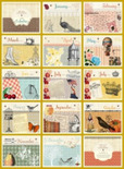 vintage scrapbook desktop calendar wallpaper