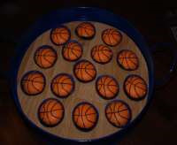 basketball march  madness truffles