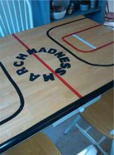 diy basketball court table