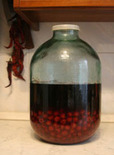 cherry vodka infusion