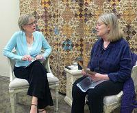 Quilt expert Meg Cox interviews