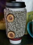 chunky knit coffe cosy