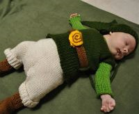 knit legend of zelda outfit