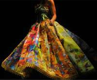 golden book dress
