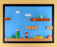 magnetic mario brothers memo board