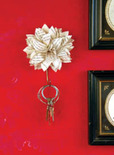 paper flower key holder
