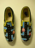 pac-man sneakers make a unique father